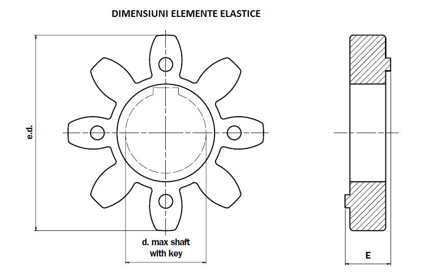 Schita elemente elastice